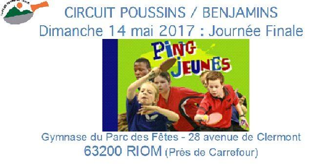 Circuit Poussins-Benjamins FINALE