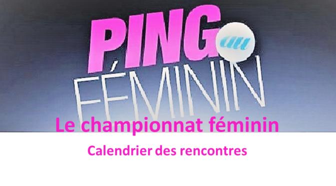Championnat féminin par équipes