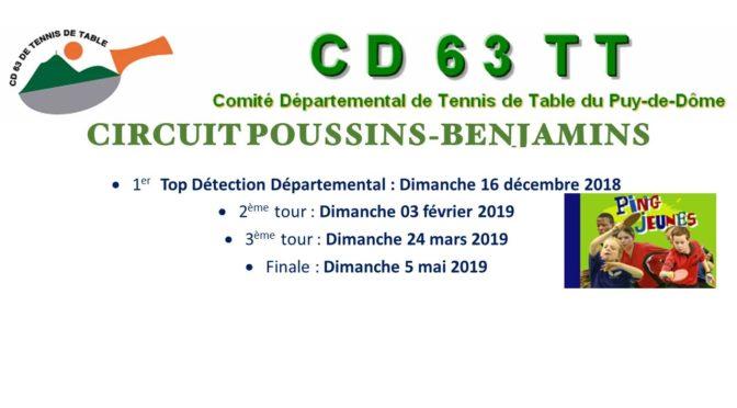 Circuit Poussins-Benjamins