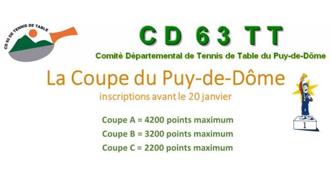 La coupe du Puy-de-Dôme